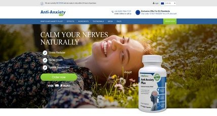 Anti Anxiety Plus review