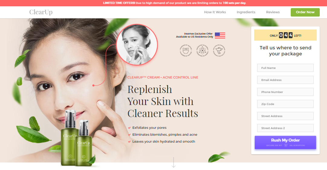 Clearup Acne Control Review