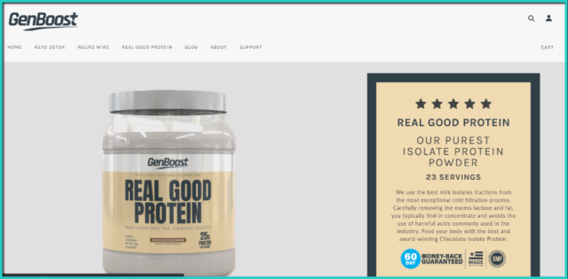 Real Good Protein review
