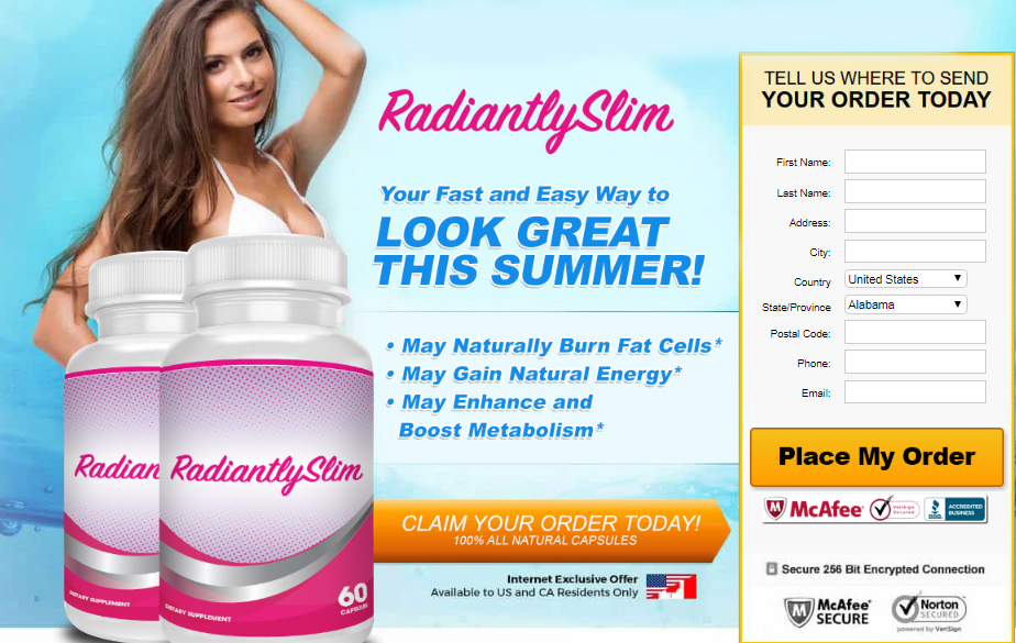Radiantly Slim Diet Weight Loss