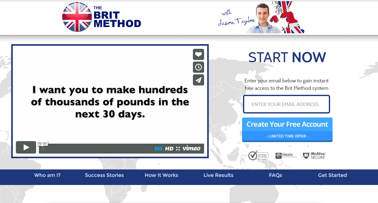 Brit Method Money Online
