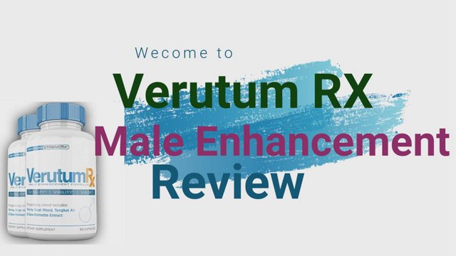 VerutumRX Review – Is it helps to increase your Energy Level Naturally?