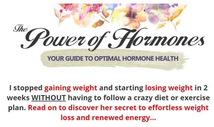 Power of Hormones Review – Control & Manage Your Hormonal Levels!!!