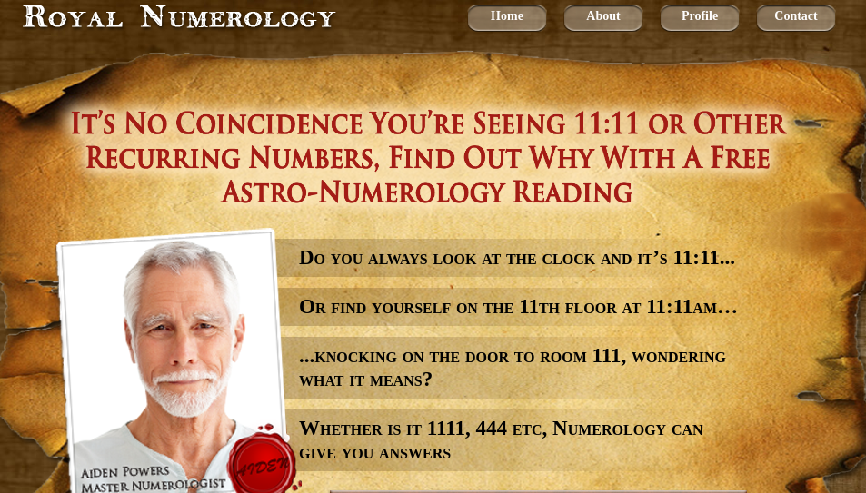 Royal Numerology Customer Reviews
