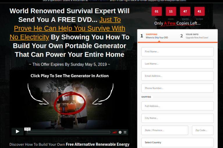 The Backpack Electricity System Review – You Can Survive without Electricity!!!
