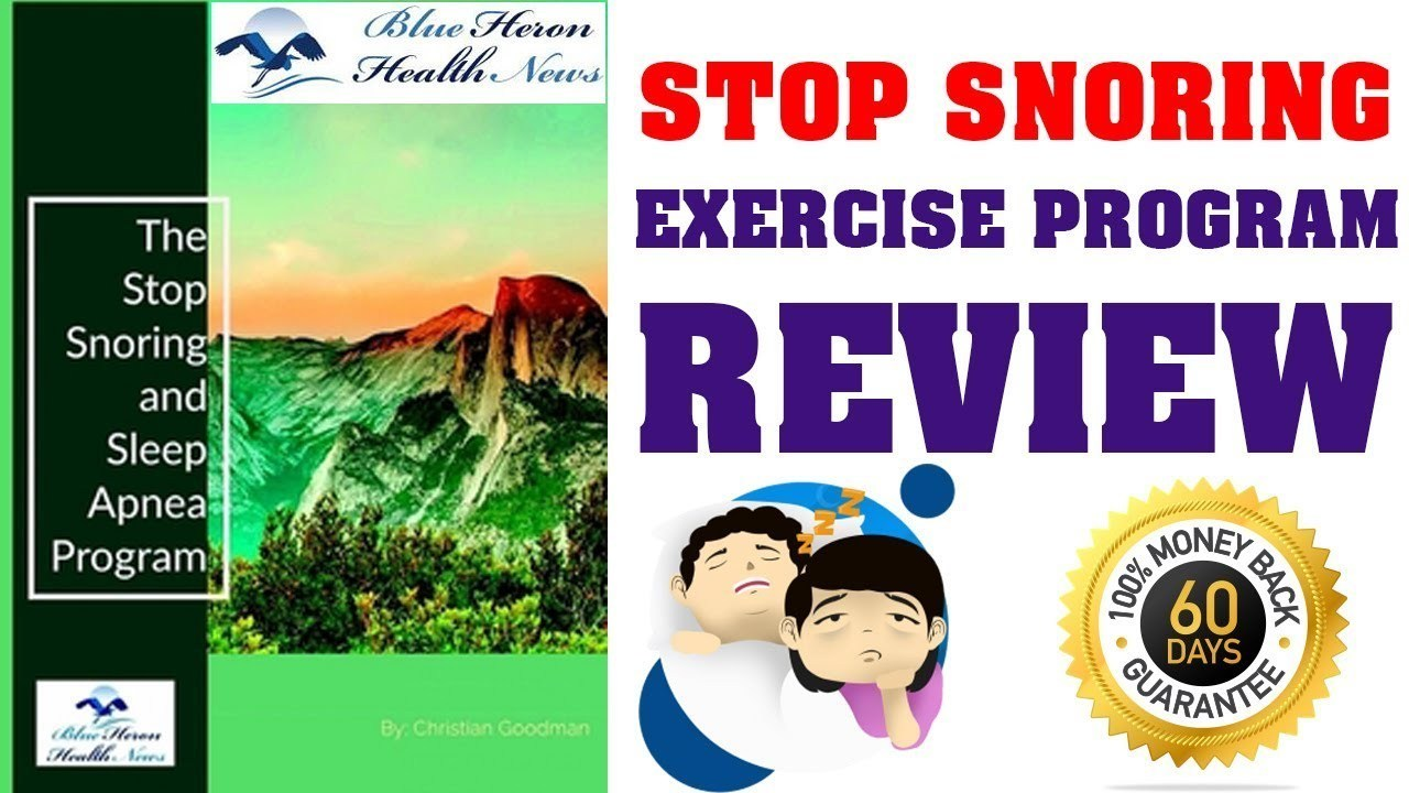 The Stop Snoring And Sleep Apnea Exercise Program Review