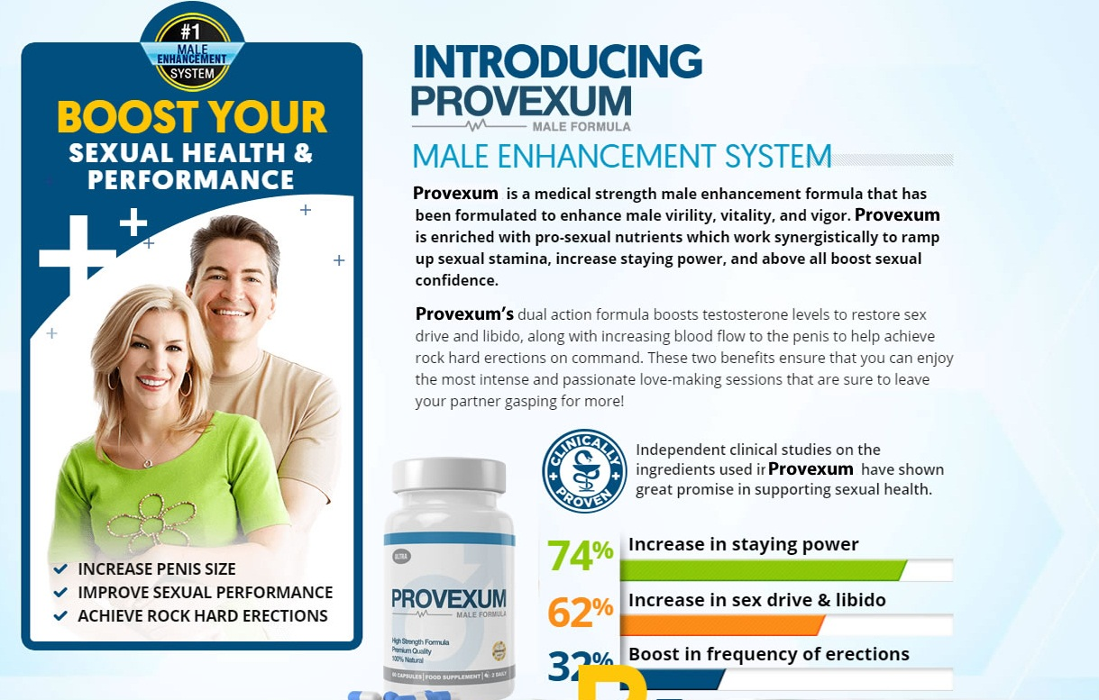 Provexum Men'S Health Review – Achieve Next Level In Your Sex Life