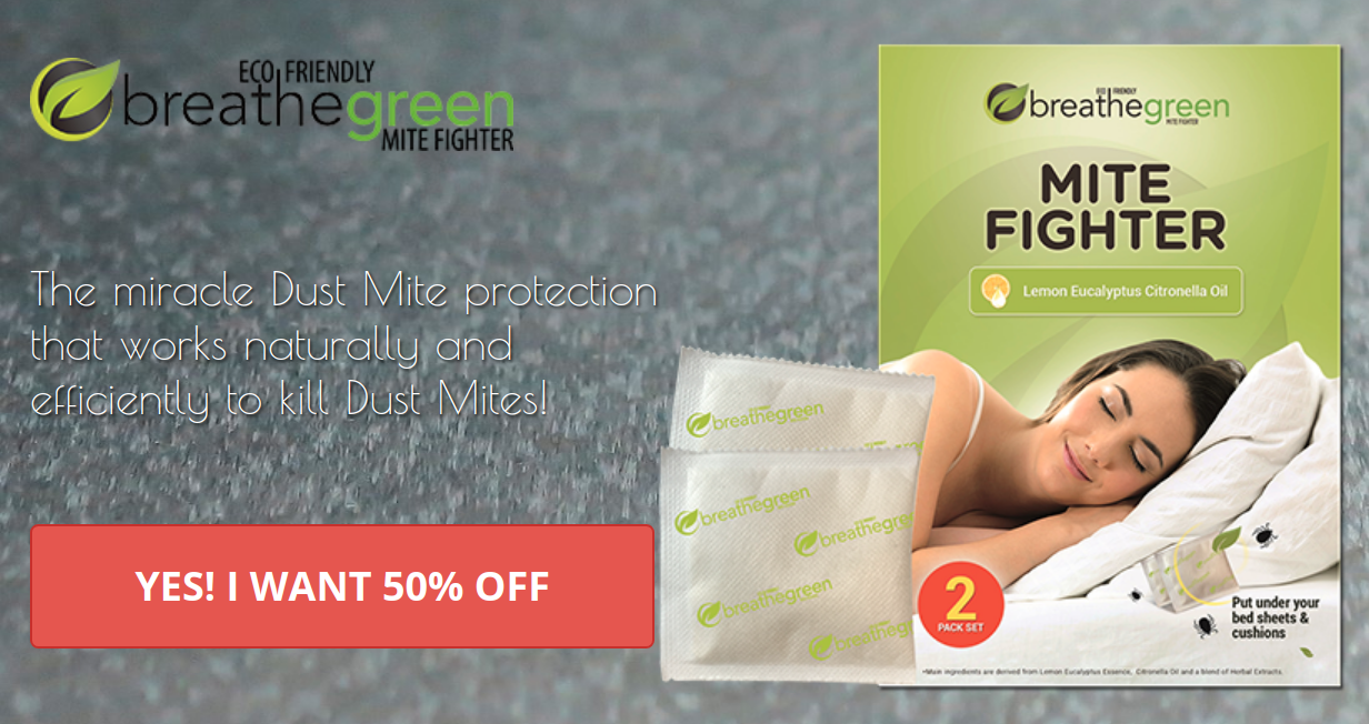 Breathe Green Dust Mites Review