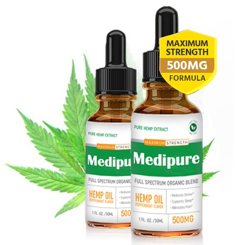 Medipure Hemp CBD Drop