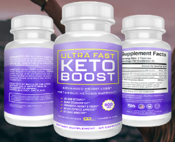 Ultra Fast Keto Boost Supplement