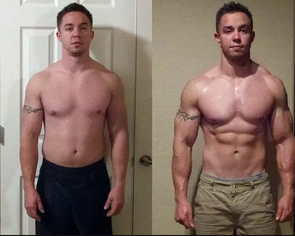 XL Real Muscle Gainer Results