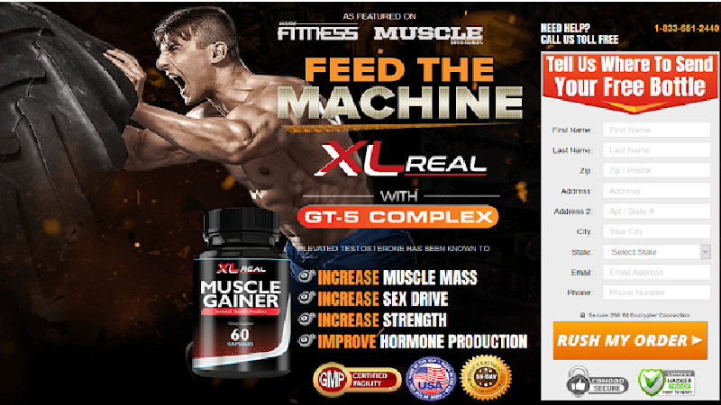 XL Real Muscle Gainer Review